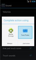 Screenshot of Tone Picker - MP3 Ringtones