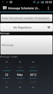 Message Scheduler (Ad Free) - screenshot