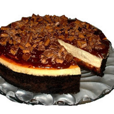 Toffee Crunch Cheesecake