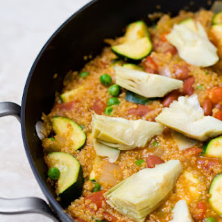 Quinoa Vegetable Paella
