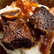 Pressure Cooker Cola-Braised Beef Short Ribs