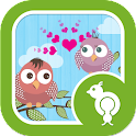 Go Locker Love Birds Theme icon
