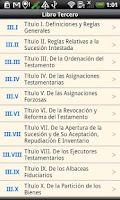 Screenshot of Chile Civil Code
