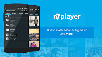 Screenshot of n7player Music Player