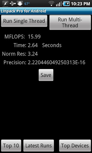 Linpack Pro for Android