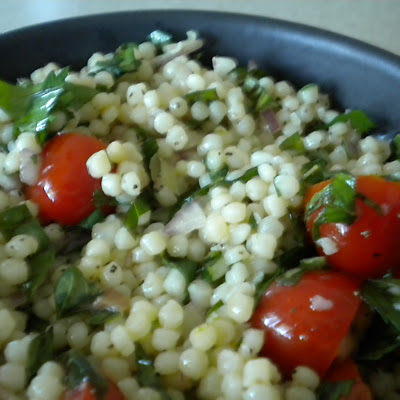 Herbed Couscous Salad with a Hint of Anchovy