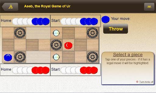 Aseb the Royal Game of Ur