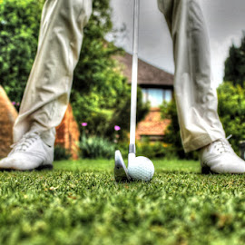 The Stance by Niki Ashcroft - Sports & Fitness Golf ( golf course, hdr, drive, green, tee, sport, golf, tee box, swing, iron )