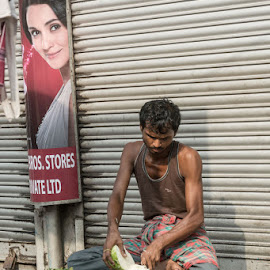 Preparation by Prodosh Mitra - City,  Street & Park  Markets & Shops