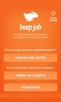 Screenshot of Beep job : Offres d'emploi
