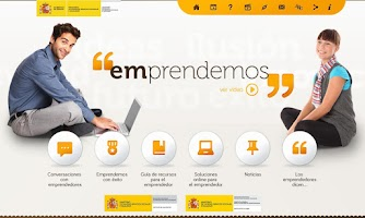 Screenshot of Emprendemos