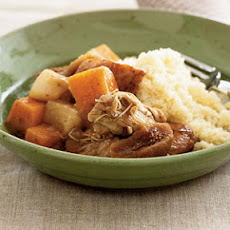 Chicken and Rutabaga Stew