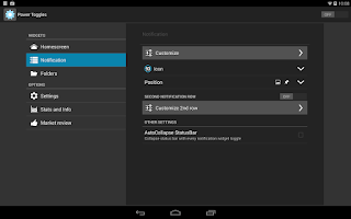 Screenshot of Power Toggles