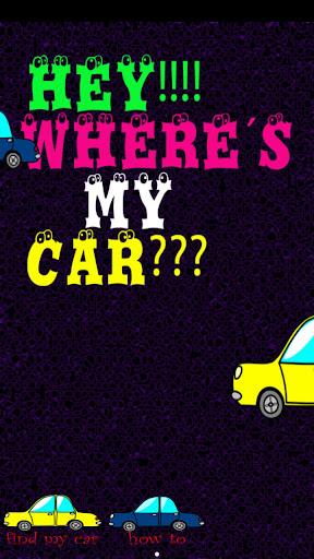 Hey Where´s My Car
