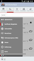 Screenshot of iSKI Deutschland