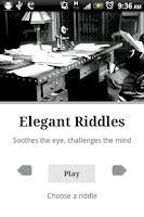 Screenshot of Elegant Riddles -Free & Full