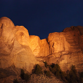 Mount Rushmore by Sid Aust - Travel Locations Landmarks
