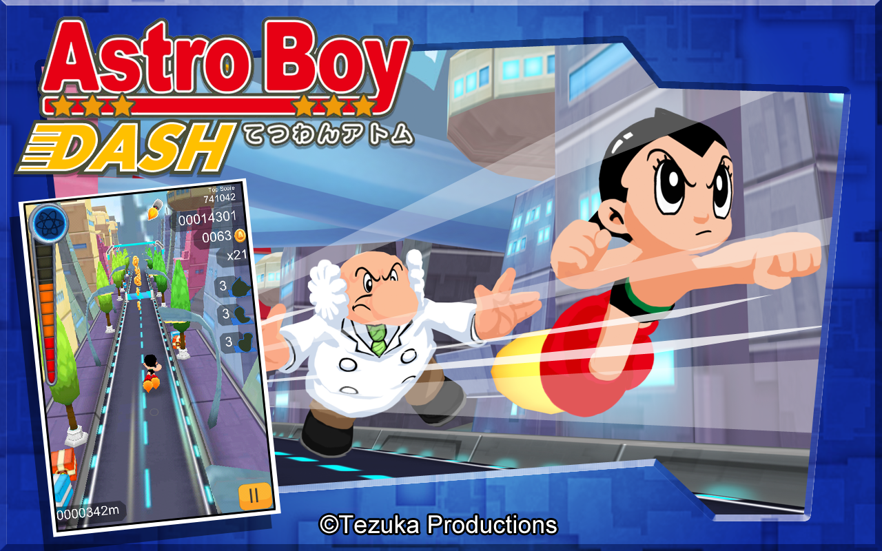 Astro Boy Dash Screenshot 0