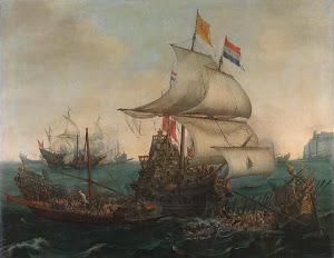 RIJKS: Hendrik Cornelisz. Vroom, Cornelis Hendriksz. Vroom: painting 1617