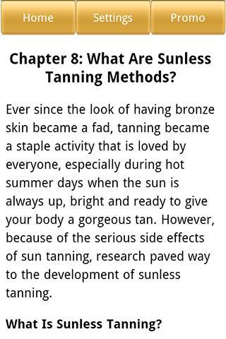 【免費生活App】Sunless Tanning Guide-APP點子