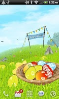 Screenshot of Easter Meadows Live Wallpaper