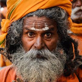 Rudra Baba by Rakesh Syal - People Portraits of Men (  )