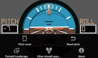 Screenshot of Aircraft Horizon Free