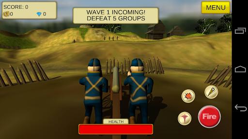 Cannon Shooter: US Civil War - screenshot