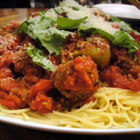 Bobby Flay's Spaghetti and Meatballs