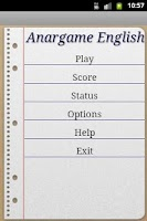 Screenshot of Anargame English