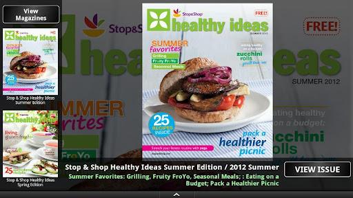 Stop Shop Healthy Ideas