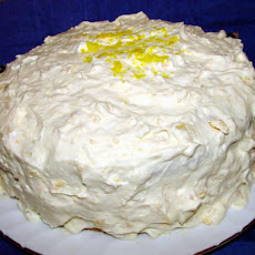 Mandarin Orange Cake With Frosting