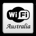 Free WiFi - Australia - Free icon