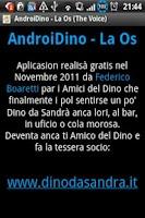 Screenshot of AndroiDino - The Voice