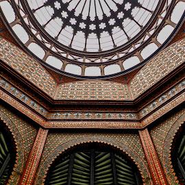 Kiosco, Santa Maria la Rivera by Pablo Muniz - Buildings & Architecture Statues & Monuments ( mexico city, mexico, travel, santa maria la rivera, public monumento )