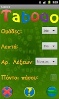Screenshot of Tabooo