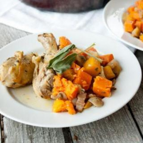 Savory Chicken and Fall Produce