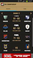 Screenshot of Lebanese Basketball