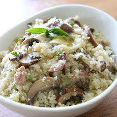 "Mushroom and Bacon ""Risotto"""