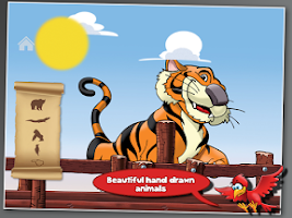 Screenshot of Animals' Boat for Toddlers