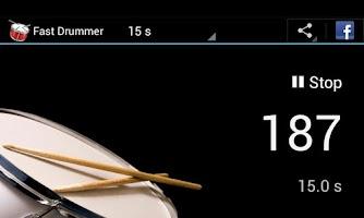 Screenshot of Fast Drummer