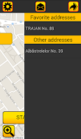 Screenshot of TAXI LUCA Client