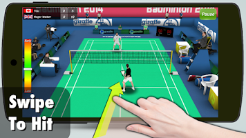 Screenshot of Badminton 3D