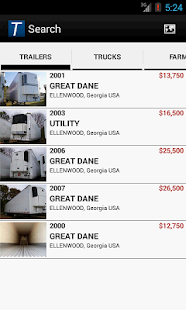THORNTON TRAILER SALES - screenshot