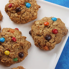Agave & Honey Oatmeal- M&M Cookies