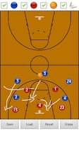 Screenshot of Basketball Strategy Board