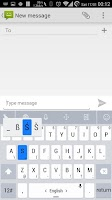 Screenshot of Theme TouchPal OS Light White