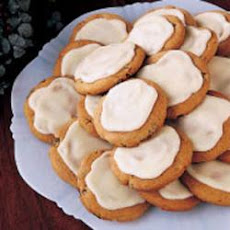 Frosted Spice Cookies