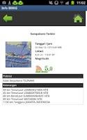 Screenshot of Info Gempa dan Cuaca