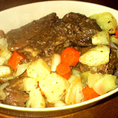 Crock Pot Roast Beef or Venison